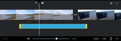 How to add and edit audio in iMovie for iPad