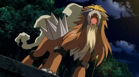 What is the best Pokemon against Legendary Beast Entei and