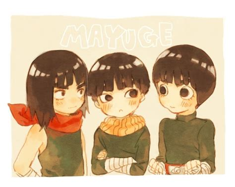 Maito Guy, Metal Lee, and Rock Lee    This is just