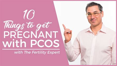 10 things if you want to get pregnant with PCOS - Marc