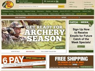 Bass Pro Shops Coupons & Promo Code 2019