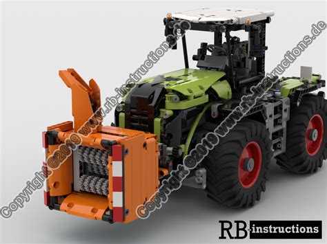 LEGO MOC-33305 Chipper / Shredder for Claas Xerion 5000 or