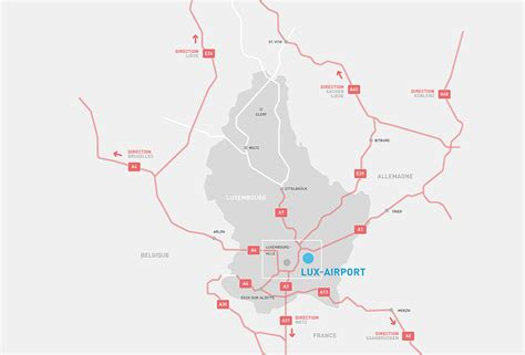 How to Get to Luxembourg Airport : Luxembourg Airport