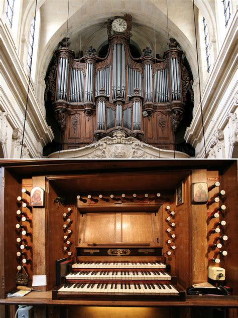 Disposition der Orgel in / Specification of the Organ at