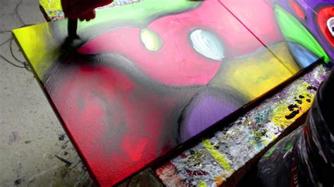 Abstract Art Lessons, Free Painting Videos - Linaria - by
