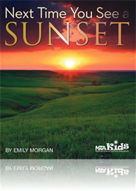 NSTA Science Store :: Next Time You See a Sunset :: NSTA Kids