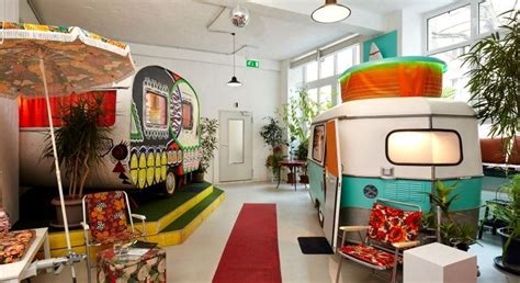 Glamping in Hüttenpalast: Factory Restyled as Quirky