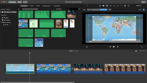 How to use the Ken Burns effect in iMovie