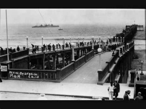 Oceanside Pier Historic Photos & sounds of the surf - YouTube