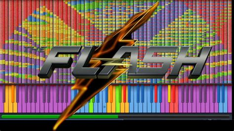 IMPOSSIBLE REMIX - The Flash Theme - Piano Cover - YouTube