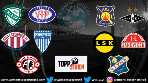 Opening Day Match Fixtures Norway Toppserien League 5th