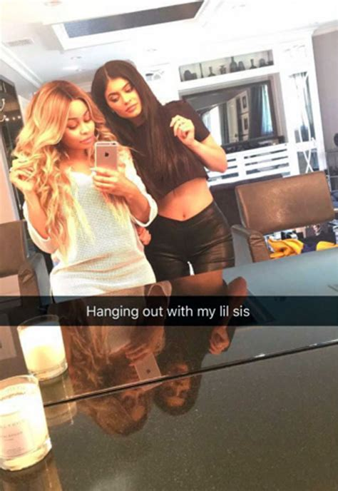 Kylie Jenner and Blac Chyna buddy up for 'best friend