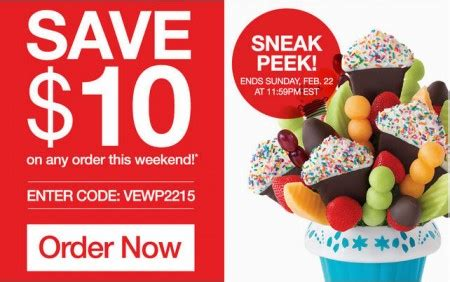Edible Arrangements: Save $10 Off Any Order Promo Code