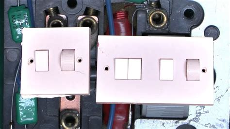 Old MK Dimmer Switches - YouTube